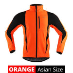 Winter Warm-Up Thermal Fleece Cycling Jacket
