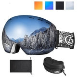 Ski Goggles UV400 Protection Snowboard Eyewear