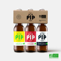 Tripack Blonde + Blanche + IPA - 3x33cl