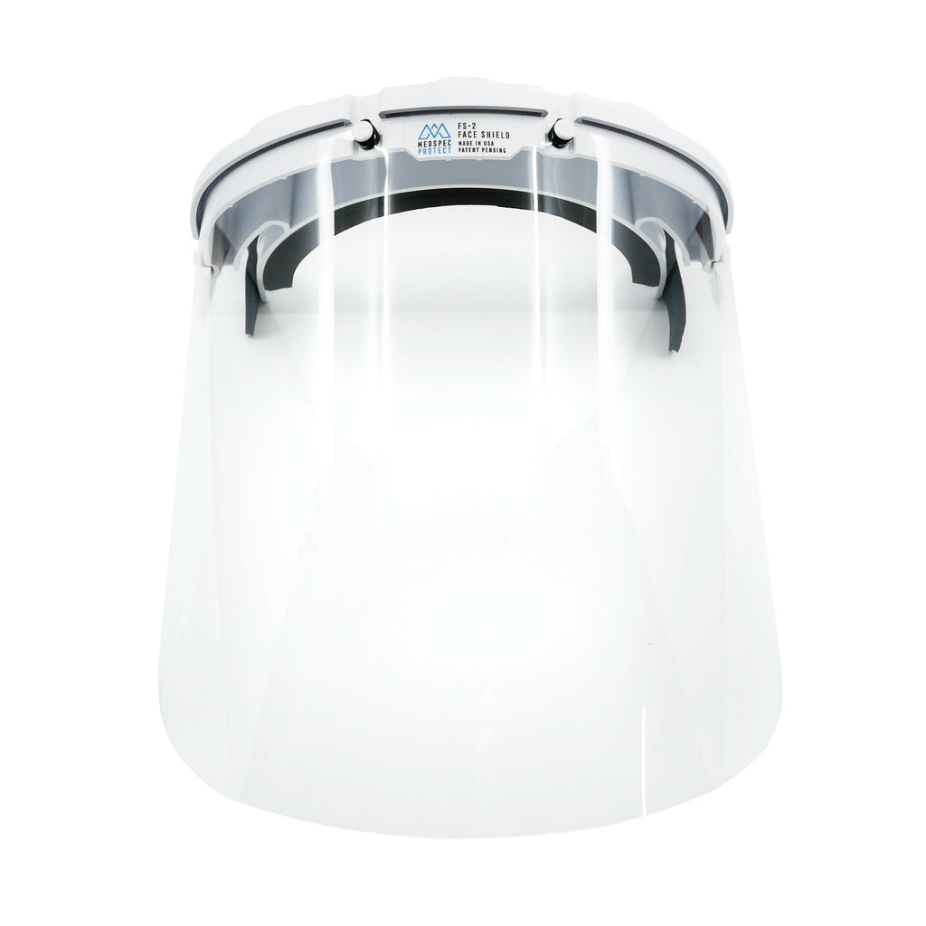 White Medspec Protect FS-2 Face Shield