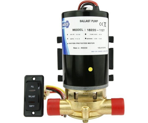 Jabsco Ballast Puppy Pump Kit 12V