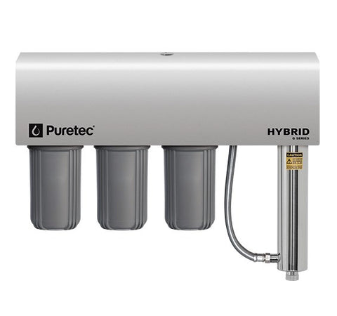 Puretec Hybrid G12 Triple Filter & UV Water Treatment System, 60 lpm