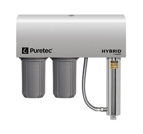 Puretec Hybrid G6 Dual Filter & UV Water Treatment System, 75 lpm