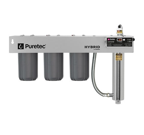 Puretec Hybrid R10 Triple Filter & UV System 60 lpm Reversible Bracket