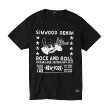Load image into Gallery viewer, SIMWOOD 2019 summer new t-shirt men fashion hip hop 100% cotton crazing pattern ripped t shirt streetwear tops tees 190290
