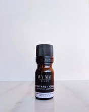 Meditate + Chill Essential Oil Diffuser Blend Notes of Grapefruit, Lemon & Geranium