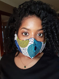 Renee | Reusable Face Mask (multiple prints)