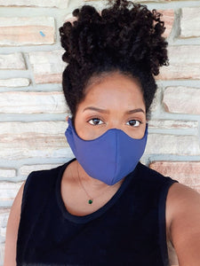Solids | Reusable Face Mask (multiple prints)