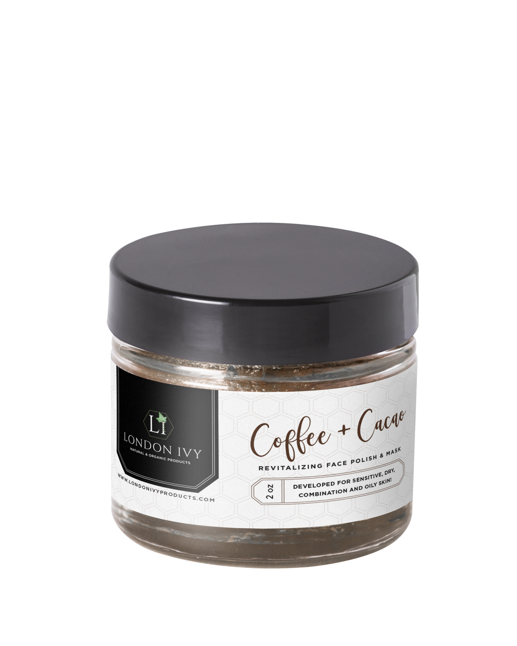 Coffee + Cacao - Revitalizing Face Polish & Mask