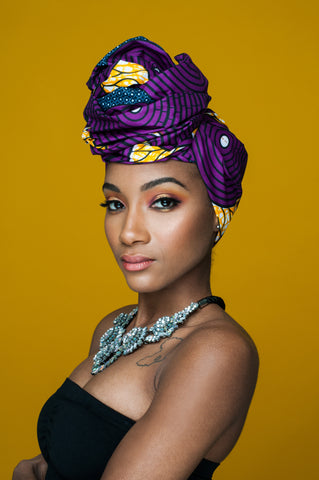 Avery | Ankara Head Wrap