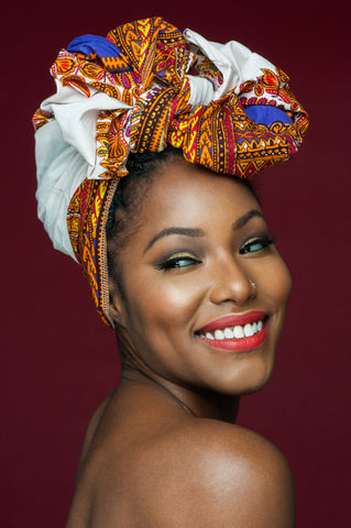 Evelyn | Ankara Head Wrap