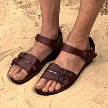Load image into Gallery viewer, Soul Sandals Australia Ethical Hippy Leather Sandals - 'Coolangatta'