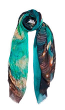 Load image into Gallery viewer, Vintage Artisan Scarf Venice Canal