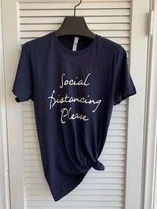Social Distancing Please T-Shirt