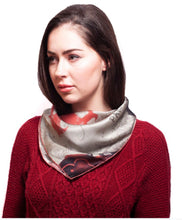 Load image into Gallery viewer, LOVE Square Neckerchief Scarf