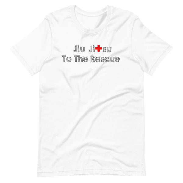 "SSBJJ ""Jiu-Jitsu to the Rescue"" Short-Sleeve T-Shirt (Made in USA)"