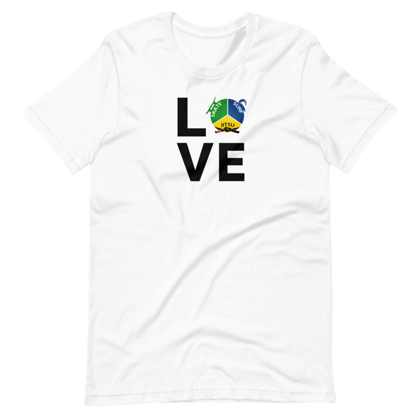 "SSBJJ ""LOVE"" Short-Sleeve T-Shirt (Made in USA)"