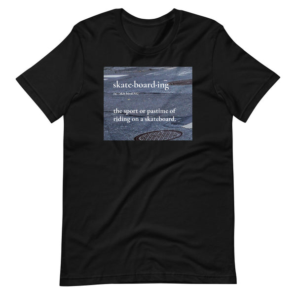 "SSBJJ ""Skateboarding Dictionary"" Short-Sleeve T-Shirt (Made in USA)"