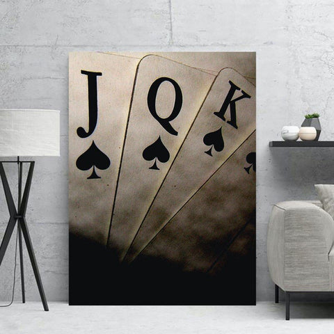 Canvas poker