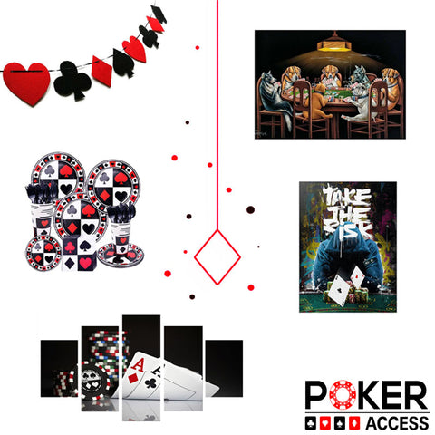 Décoration poker