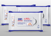 Load image into Gallery viewer, Sterilized Wet Wipes - 5pc