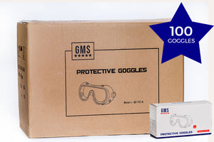Protective Goggles CARTON - 100 Boxes of 1pc (100 Goggles)