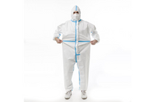 Load image into Gallery viewer, Disposable Isolation Suit - 1pc