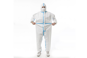 Disposable Isolation Suit - 1pc