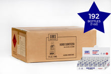 Load image into Gallery viewer, Antibacterial Gel Hand Sanitizer CARTON - 8 Display Boxes of 24pc (192 1oz Bottles)