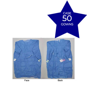 AAMI Surgical Gown Level 2 Carton (50 Gowns)
