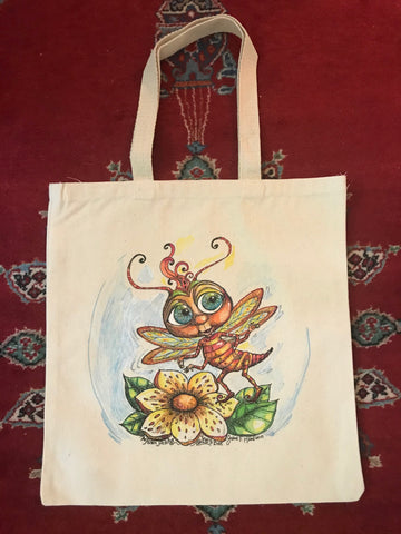 Tote Bag colored By Jane F. Hankins