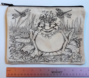 Bubbles Frog Pencil Pouch