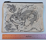 Load image into Gallery viewer, Dragonfish Pencil Pouch