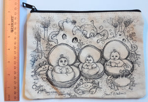 Pearl Babies Pencil Pouch