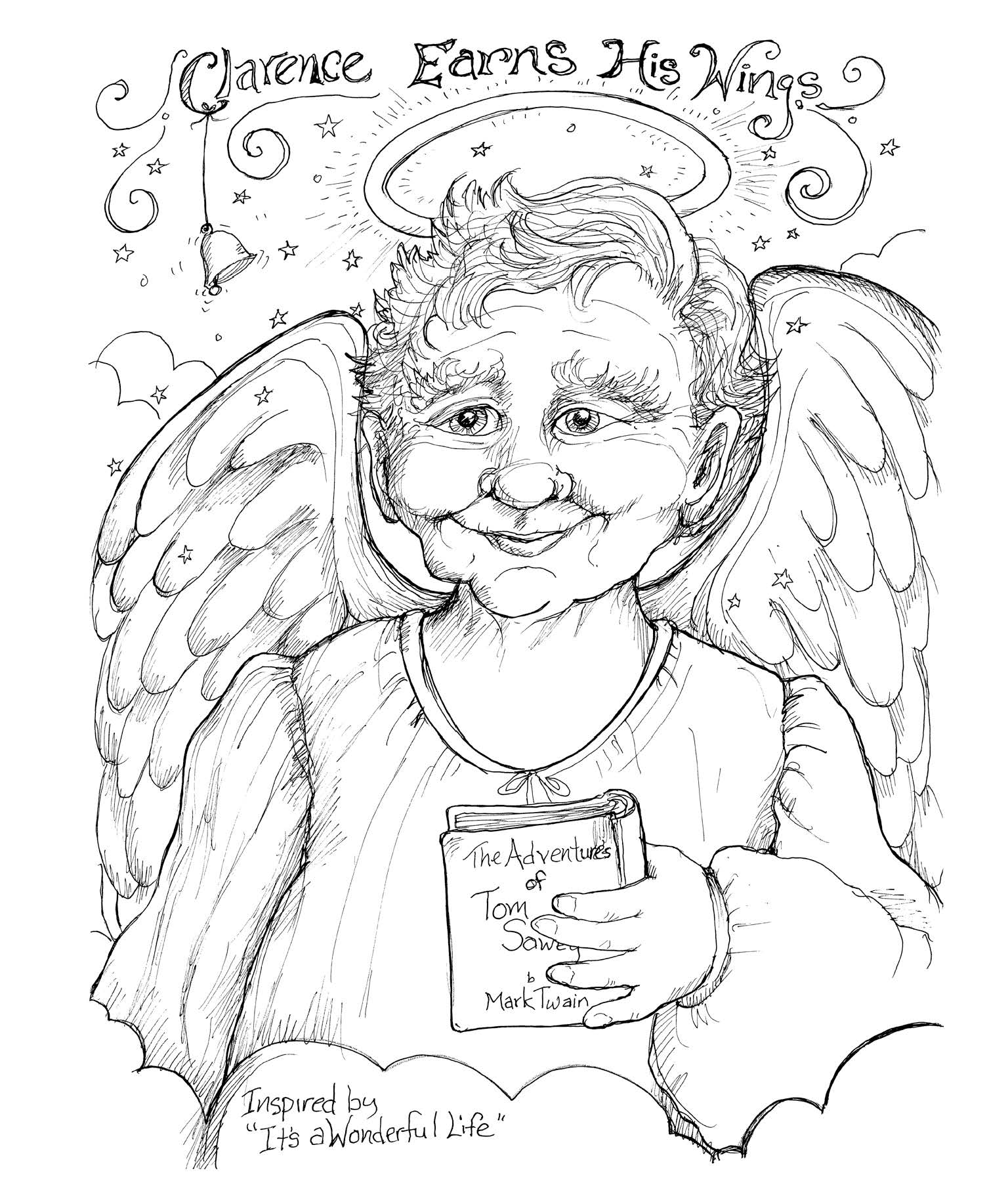 A Book Of Angels 11x14