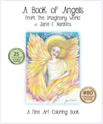 Load image into Gallery viewer, A Book of Angels 9x12 - from The Imaginary World of Jane F. Hankins