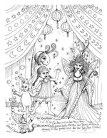 Load image into Gallery viewer, The Fairyland Circus from The Imaginary World of Jane F Hankins (Digital PDF)