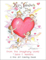 Load image into Gallery viewer, Happy Valentine's Day From The Imaginary World of Jane F. Hankins