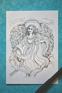 Beautiful Angels Greeting Cards