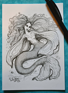 Mesmerizing Mermaid Greeting Cards