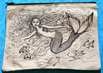 Load image into Gallery viewer, Mermaid Pencil Pouch