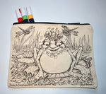 Load image into Gallery viewer, Bubbles Frog Pencil Pouch