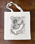 Load image into Gallery viewer, Rainbow Narwhal Tote Bag