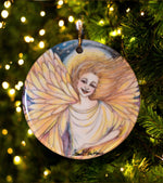Load image into Gallery viewer, Angel of Joy Ornament