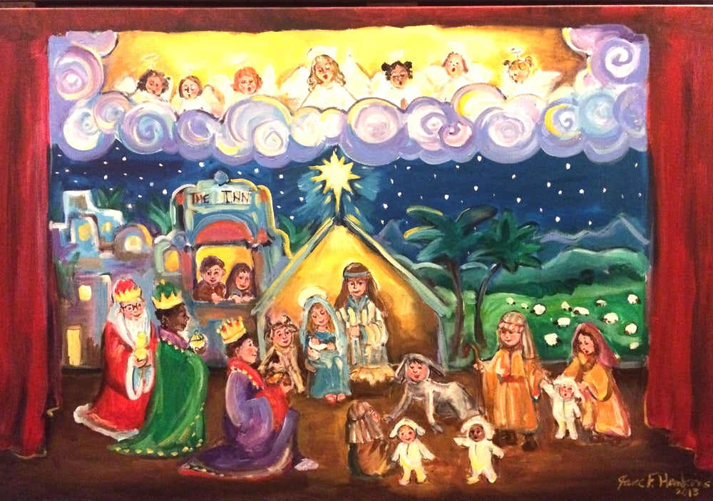 The Best Christmas Pageant (with Little Lambs Astray!)