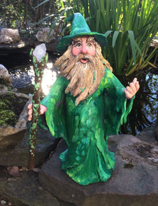 Green Forest Wizard