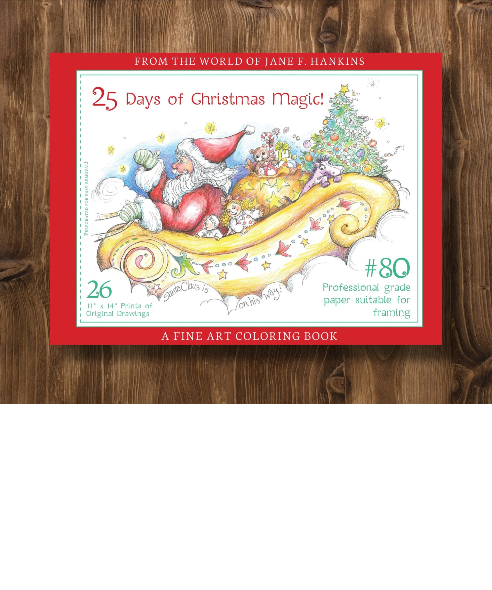 25 Days of Christmas Magic 11x14 - 2017