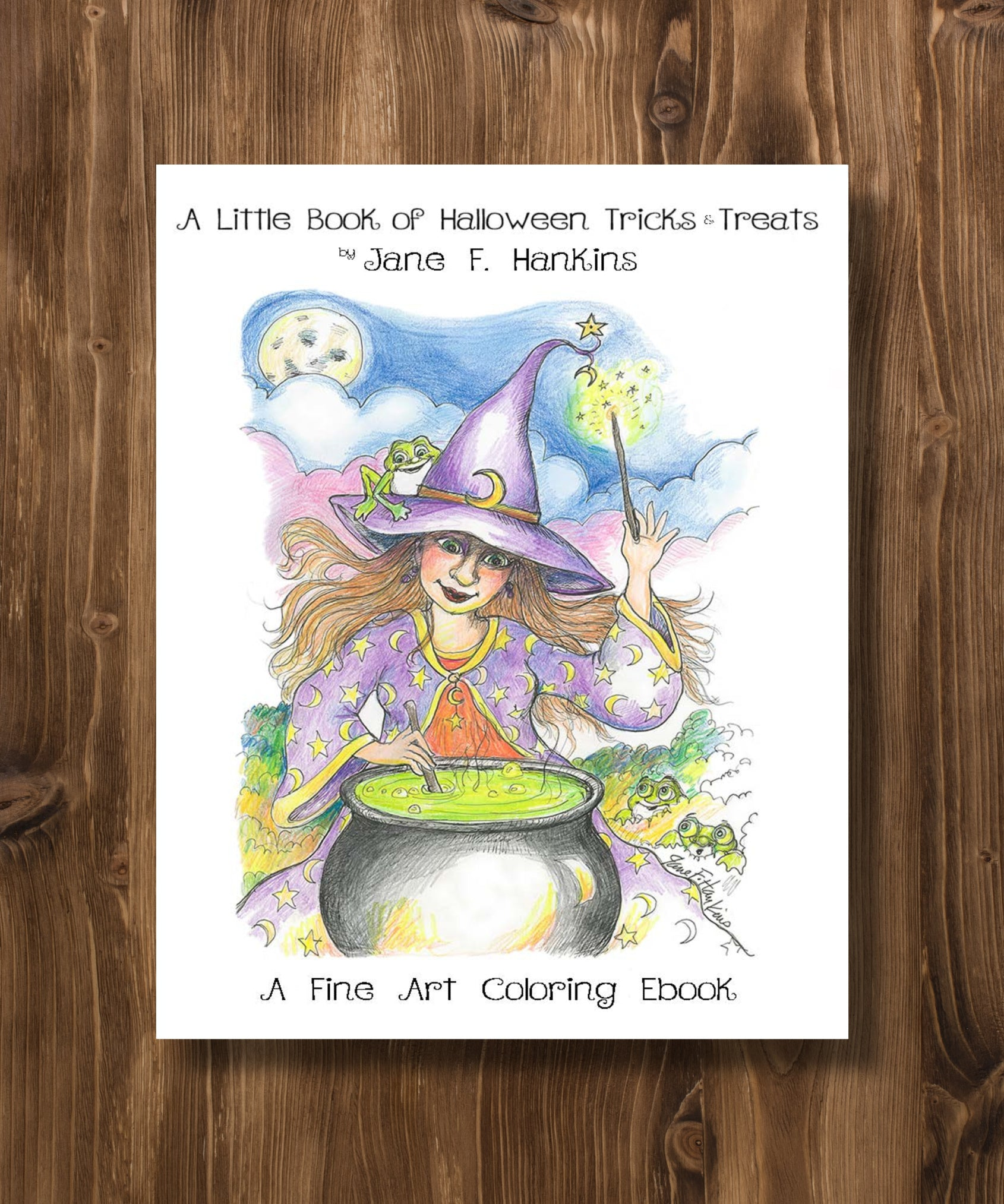 A Little Book of Halloween Tricks and Treats (Digital PDF)