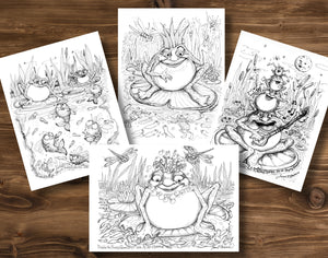 Fabulous Frogs Greeting Cards