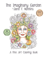 "Load image into Gallery viewer, The Imaginary Garden of Jane F. Hankins 9""x12"""